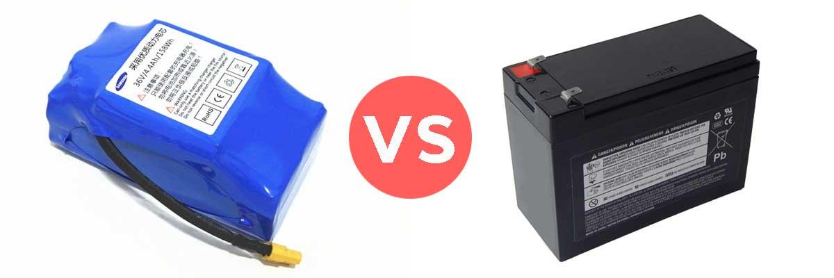 batterie lithium vs-plomb