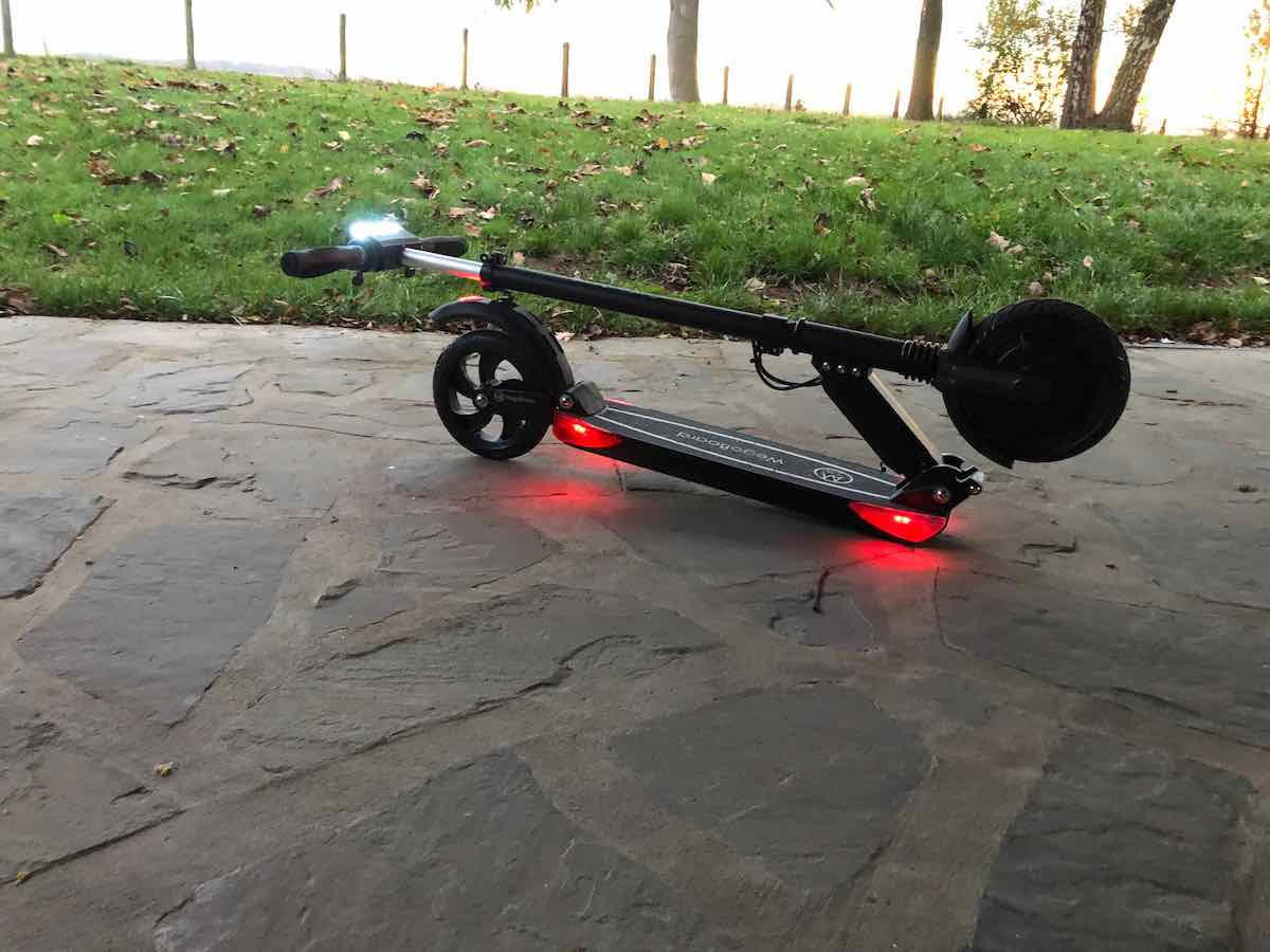 Wegoboard suprem 3.0, trottinette électrique pliable en deux