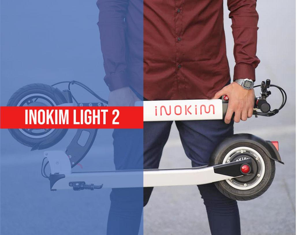photo de la trottinette inokim light 2
