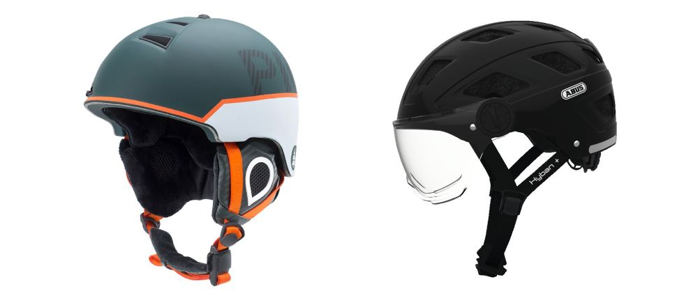 Type de casque pour trottinette électrique: snowboard