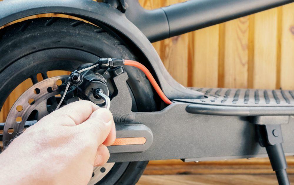 Réparer trottinette électrique soi-même